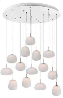 Puffs 14-Light Pendant
