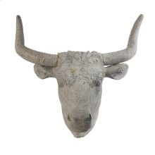 Angus Horned Wall Accent