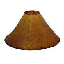 "20"" Buckskin Lamp Shade"