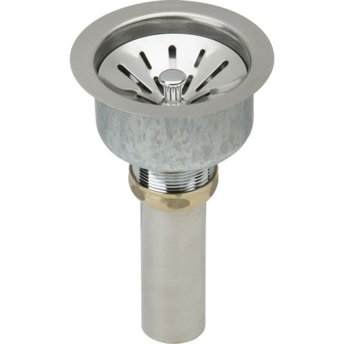"Elkay Lustertone Classic Stainless Steel 16-1/2"" x 20-1/2"" x 7-7/8"", Single Bowl Undermount Sink Kit"