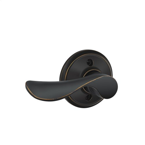 Champagne Lever Non-Turning Lock - Aged Bronze
