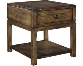 Pike Place Drawer End Table