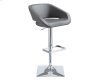 Gustavo Adjustable Barstool - Graphite