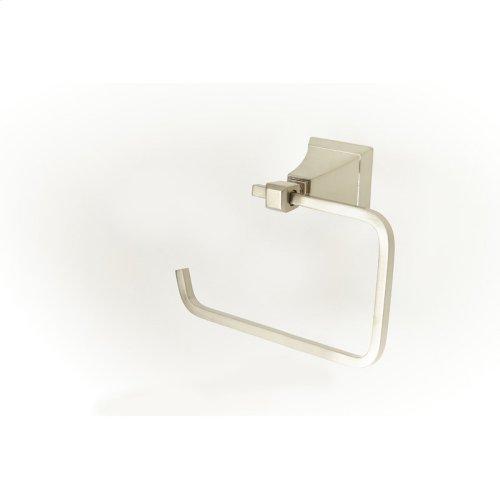Paper Holder / Towel Ring Leyden (series 14) Satin Nickel