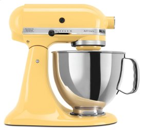 Artisan® Series 5 Quart Tilt-Head Stand Mixer - Majestic Yellow