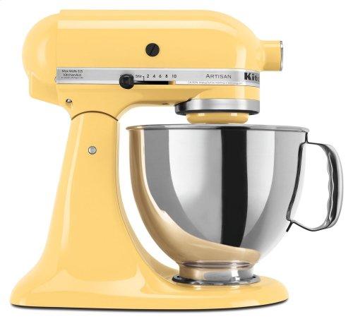 Artisan® Series 5 Quart Tilt-Head Stand Mixer - Majestic Yellow