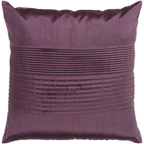 "Solid Pleated HH-016 22"" x 22"" Pillow Shell with Polyester Insert"