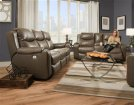 Double Reclining Sofa with Console Product Image