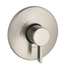 Brushed Nickel Pressure Balance Trim S