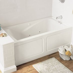 Evolution 60x32 inch Deep Soak Whirlpool - Linen