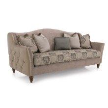 Sofa (leather outside arm)