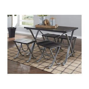 Ashley Furniture Rect Drm Table Set (5/cn)