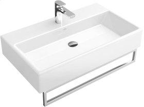 """Washbasin 31"""" Angular - Matte White CeramicPlus"""