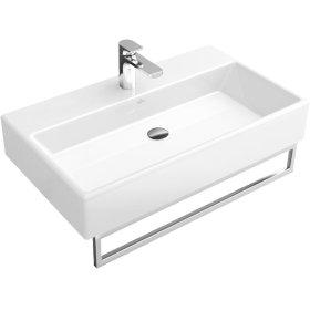 """Washbasin 31"""" Angular - Glossy Black Ceramicplus"""