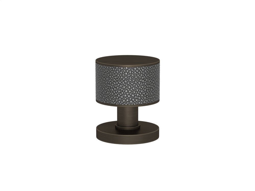Stacked Shagreen Recess Amalfine In Alupewt And Vintage Patina