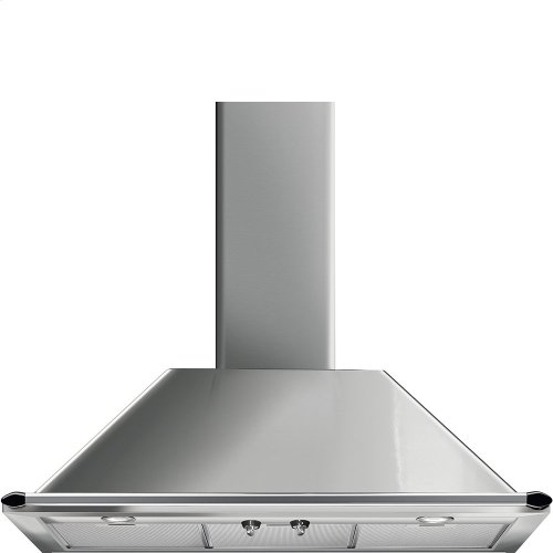 """90 CM (approx. 36""""), Victoria Ventilation Hood, Stainless steel"""