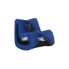 Seat Belt Rocking Chair, Blue/Black