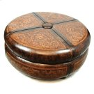 Emilie Leather Coffee Table Product Image