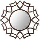 Inca Sunburst Mirror - Copper Bronze Product Image