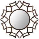 Inca Sunburst Mirror - Copper Bronze Product Image