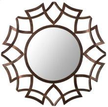Inca Sunburst Mirror - Copper Bronze