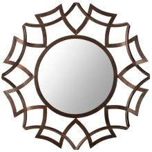 Inca Sunburst Mirror - Copper Bronze