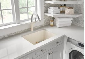 Blanco Liven Laundry Sink - Café Brown