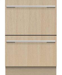 Double DishDrawer Dishwasher, 14 Place Settings, Panel Ready