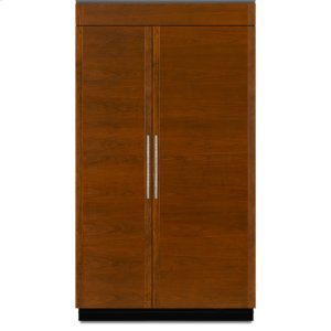 JENN-AIR48-Inch Built-In Side-by-Side Refrigerator