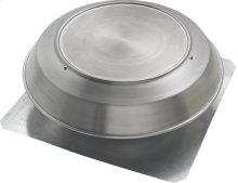 Attic Ventilator, Roof Mounted, Aluminum, 1200 CFM.