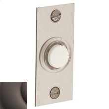 Distressed Venetian Bronze Rectangular Bell Button