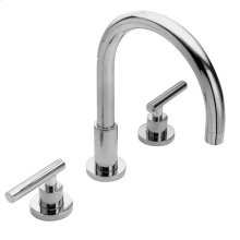 Gloss Black Roman Tub Faucet