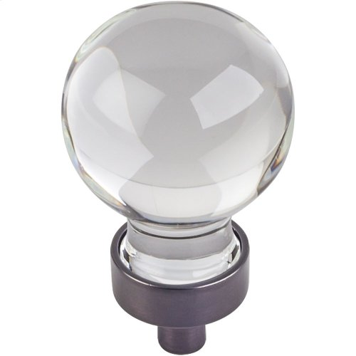 "1-1/16"" Diameter Glass Sphere Cabinet Knob."