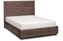 Ironwood Planked Storage Bed, California King