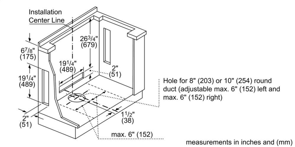 Hdd80050ucbosch 800 Series Downdraft Ventilation Stainless