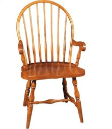 Seven Spindle Windsor Arm Chair
