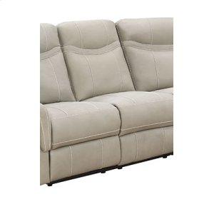 Manual Stone 3PC Sectional Sofa Set