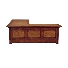 Oak Burl Desk