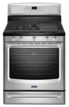 30-inch Wide Gas Range with Convection and Power Preheat - 5.8 cu. ft. Product Image