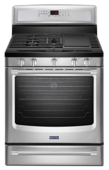30-inch Wide Gas Range with Convection and Power Preheat - 5.8 cu. ft.