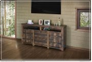 """70"""" TV Stand w/2 Doors, 2 Drawer & 2 shelves Product Image"""
