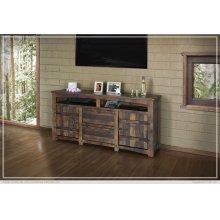 "70"" TV Stand w/2 Doors, 2 Drawer & 2 shelves"