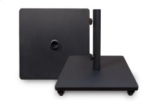 Steel Base w/casters - Black