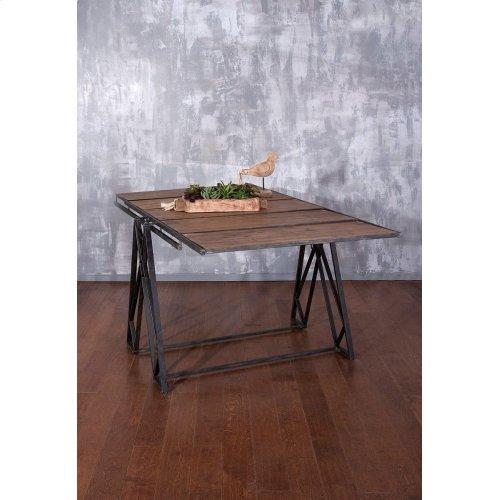Convertible Dining Table Bookshelf