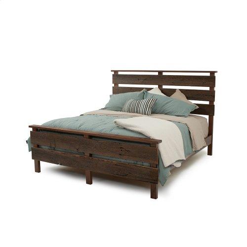 Hillsboro Bed (barnwood or Walnut) - Calking Bed (walnut)
