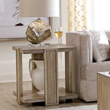 Sophie - Square Side Table - Natural Finish