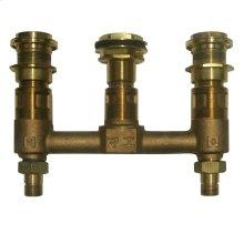 """Kiwami® Renesse® Deck-Mount Bath Faucet - Valve (1/2"""") - No Color"""