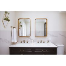 Widespread Lavatory Faucet With Low Spout - Less Handles