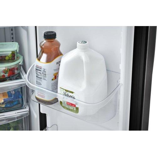 Crosley Side By Side Refrigerator - Black