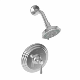 Polished-Nickel Balanced Pressure Shower Trim Set